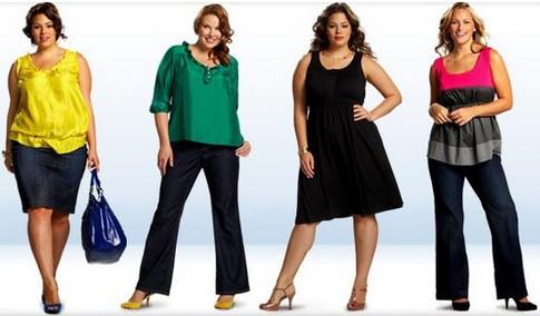 Как правильно выбрать женскую одежду большого размера